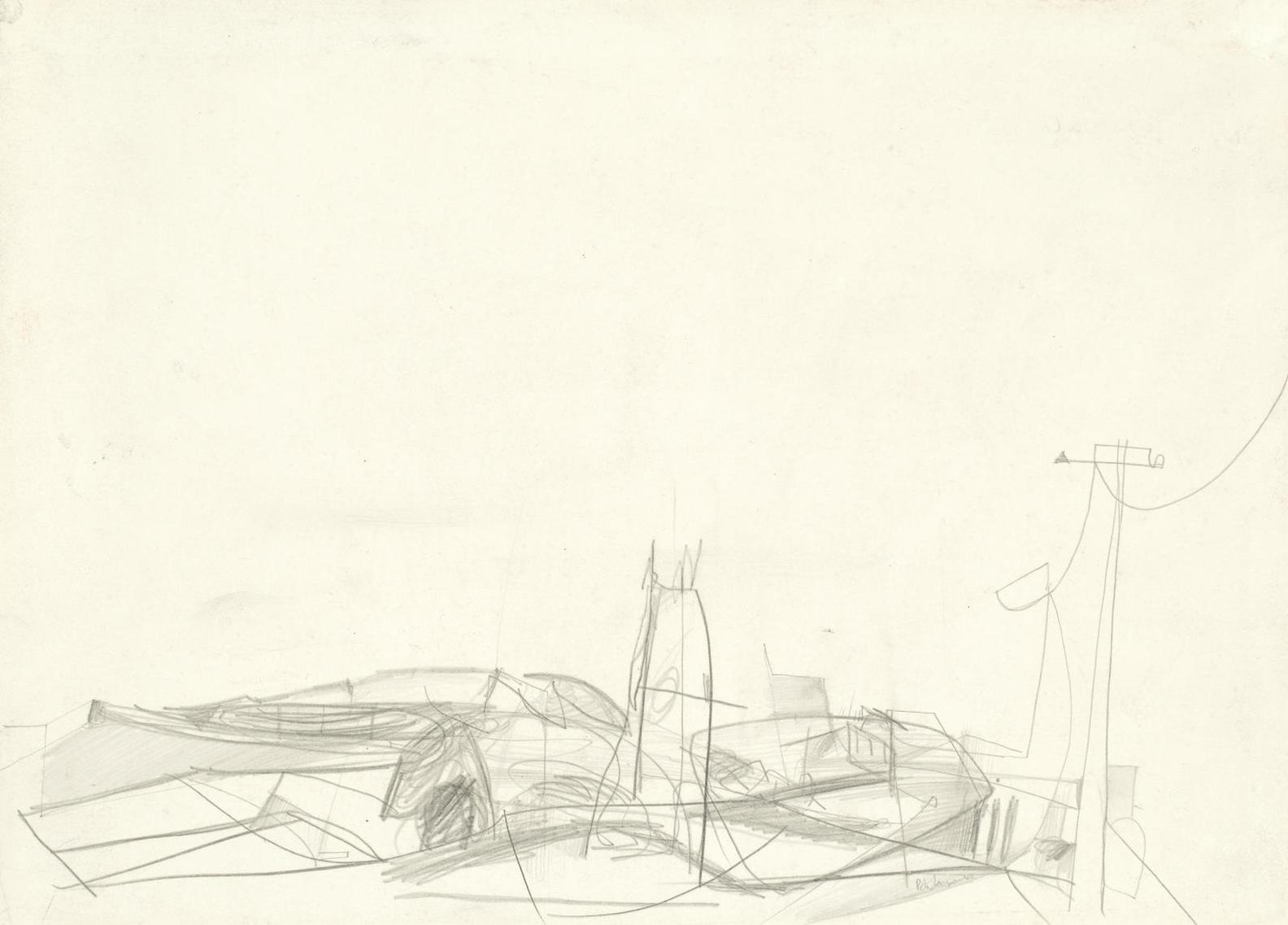 Peter Lanyon-Study For St Just-1952