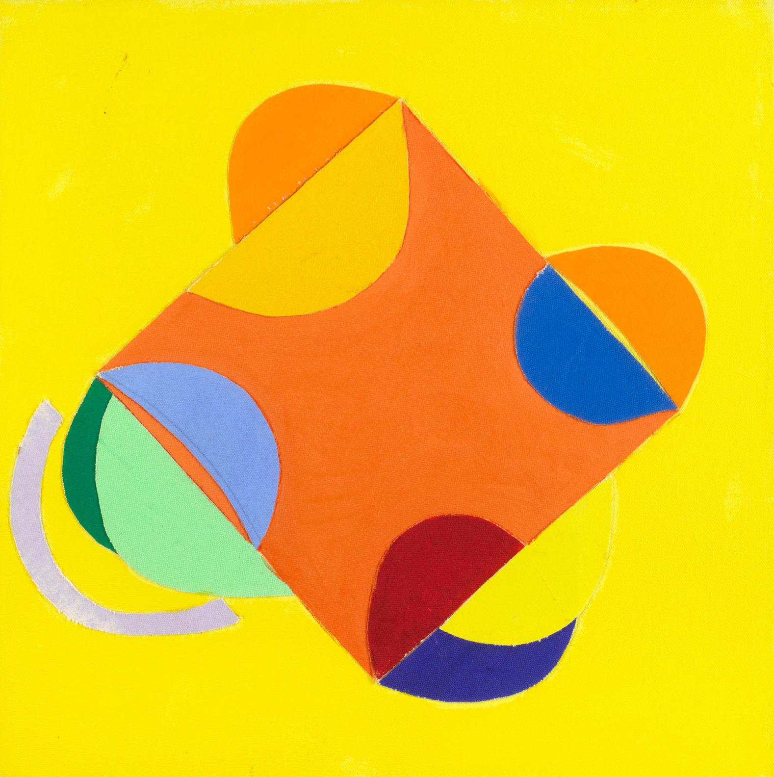 Sir Terry Frost - Yellow Collage-