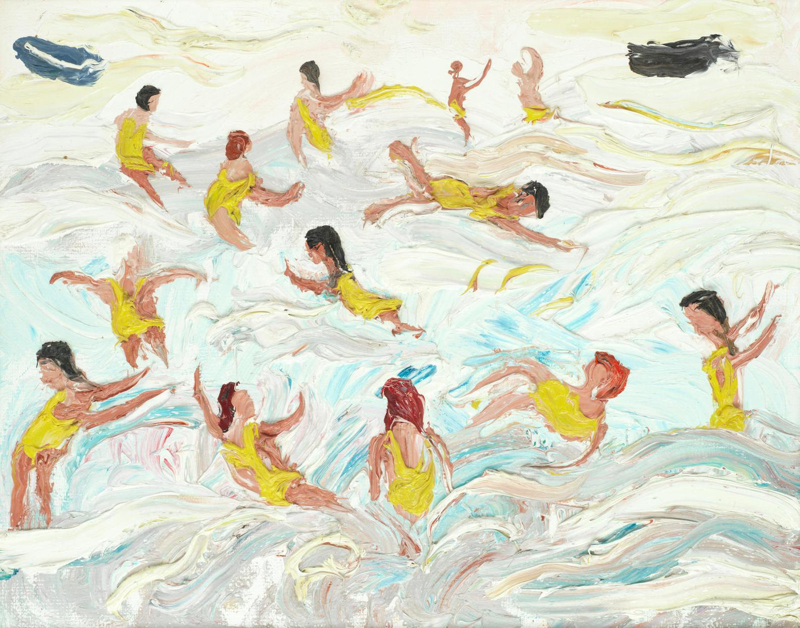 Fred Yates - Swimming-