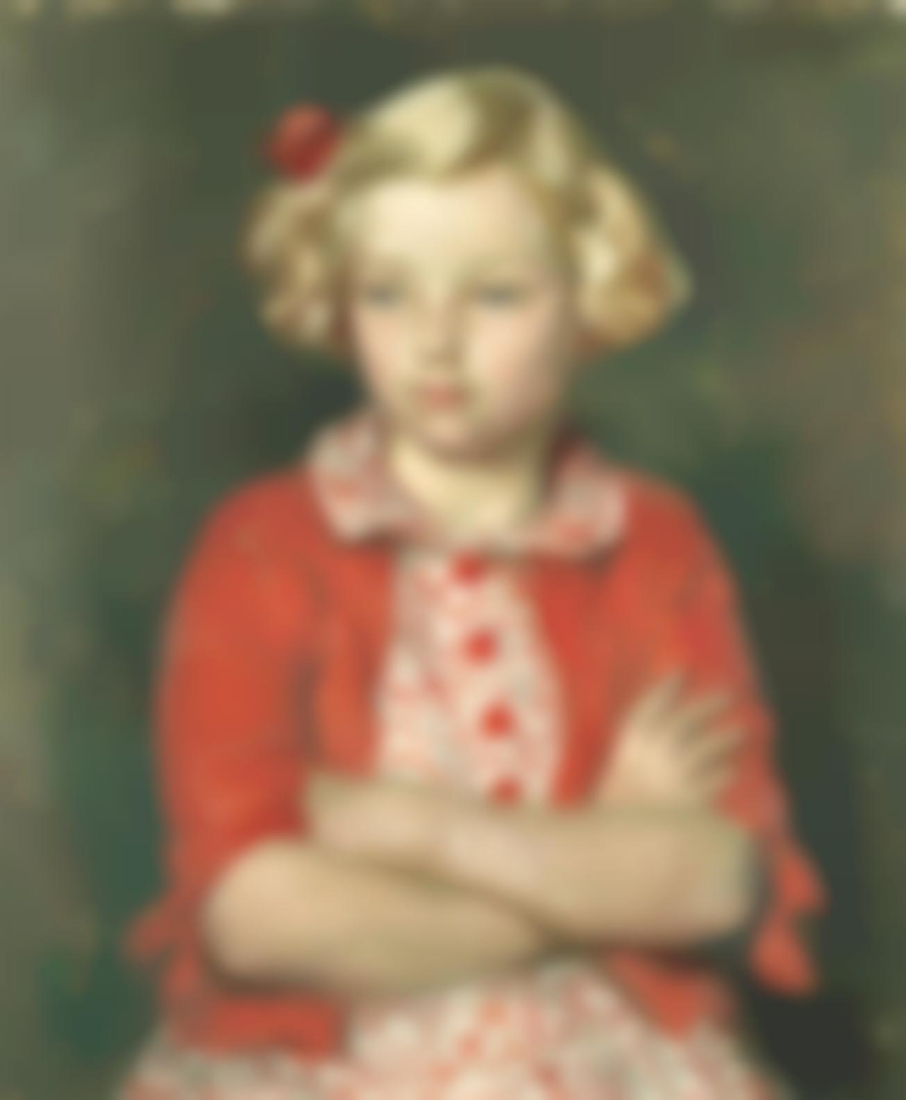 Henry Lamb-Portrait Of Rosaline Pollock-1939