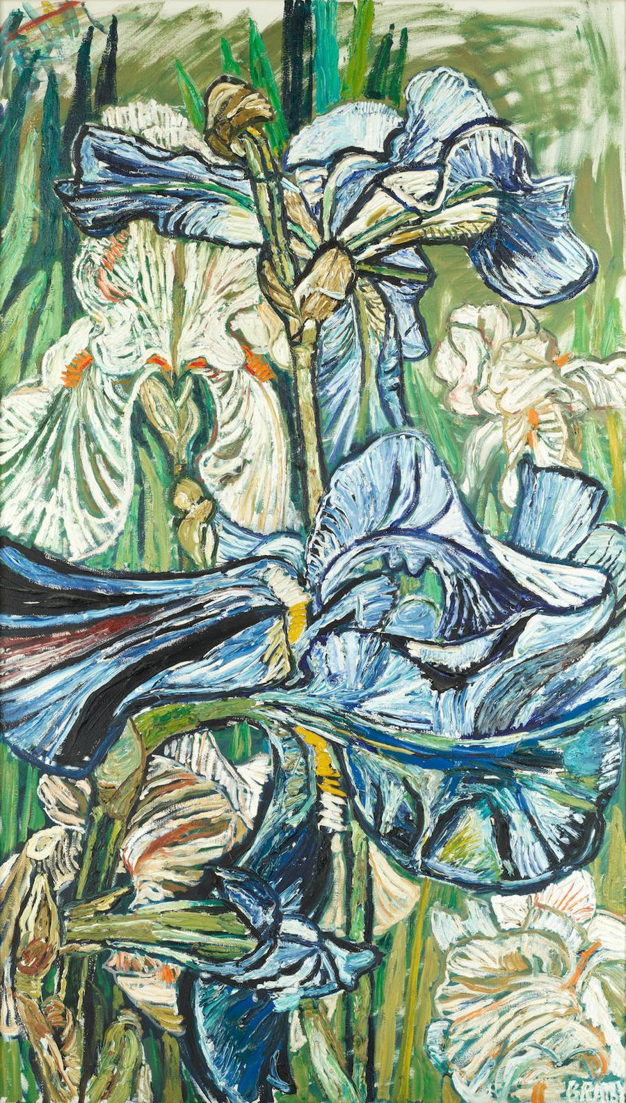 John Bratby-Irises-1966