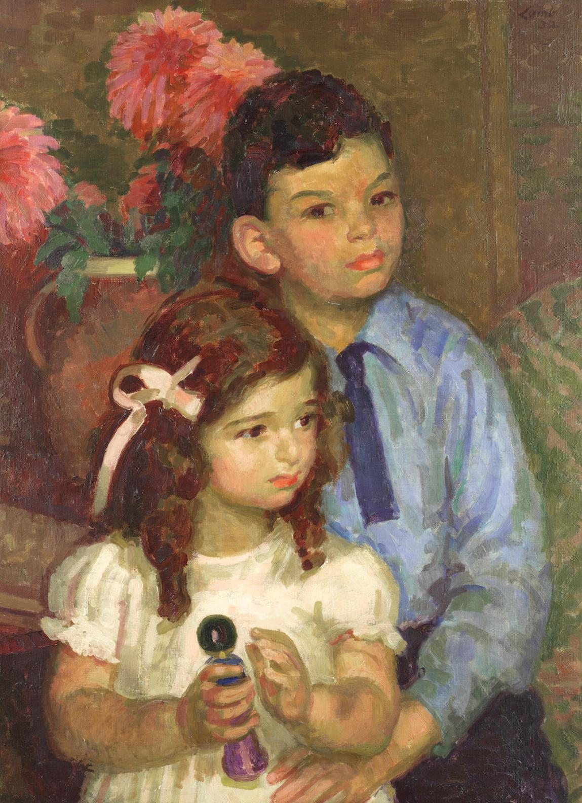 Henry Lamb-The Behrend Children-1932