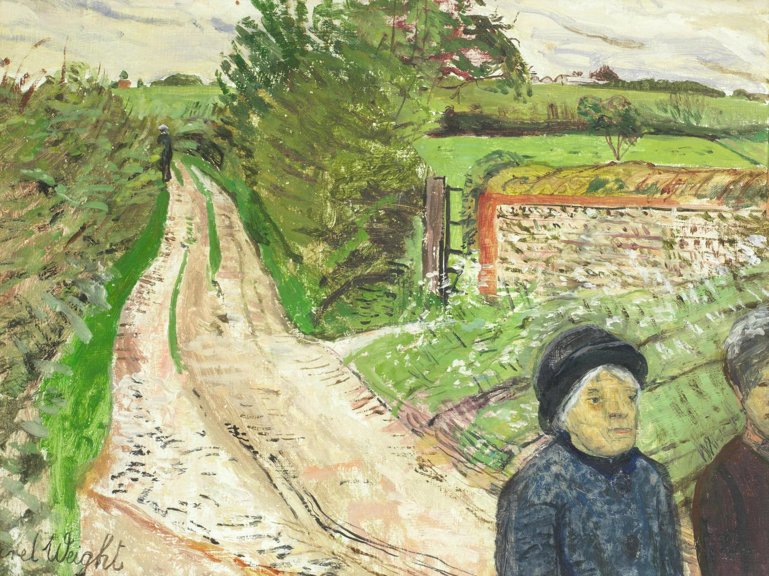 Carel Weight-The Lane-