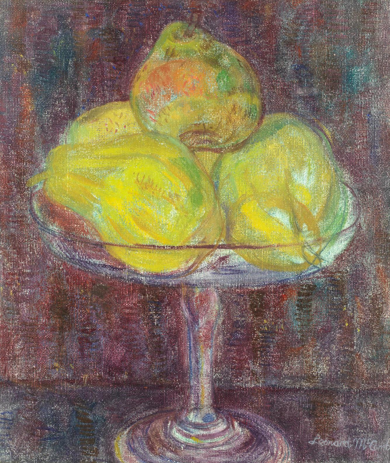 Leonard Mccomb - Stil Life, Pears-