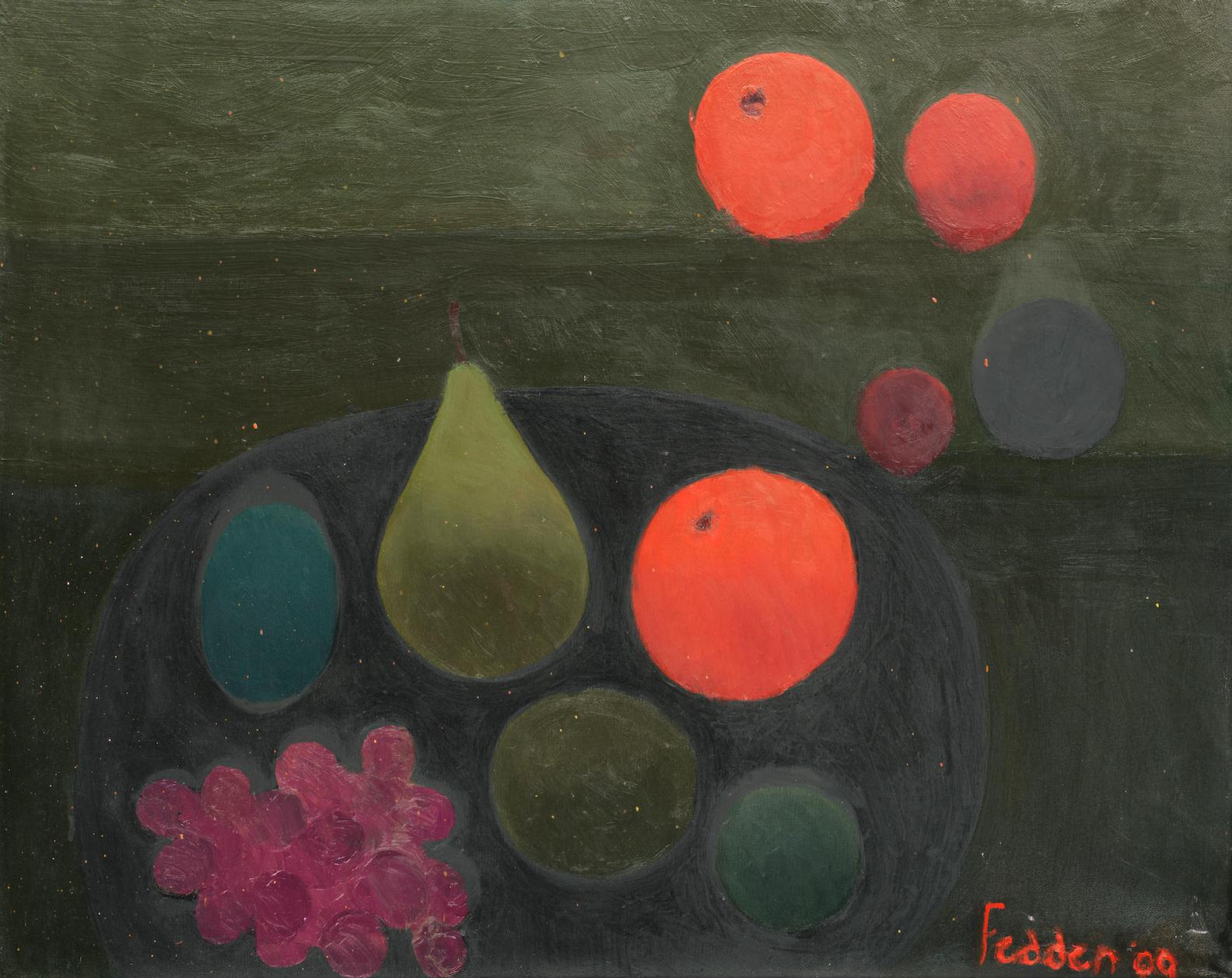 Mary Fedden-Still Life Of Fruit-2009