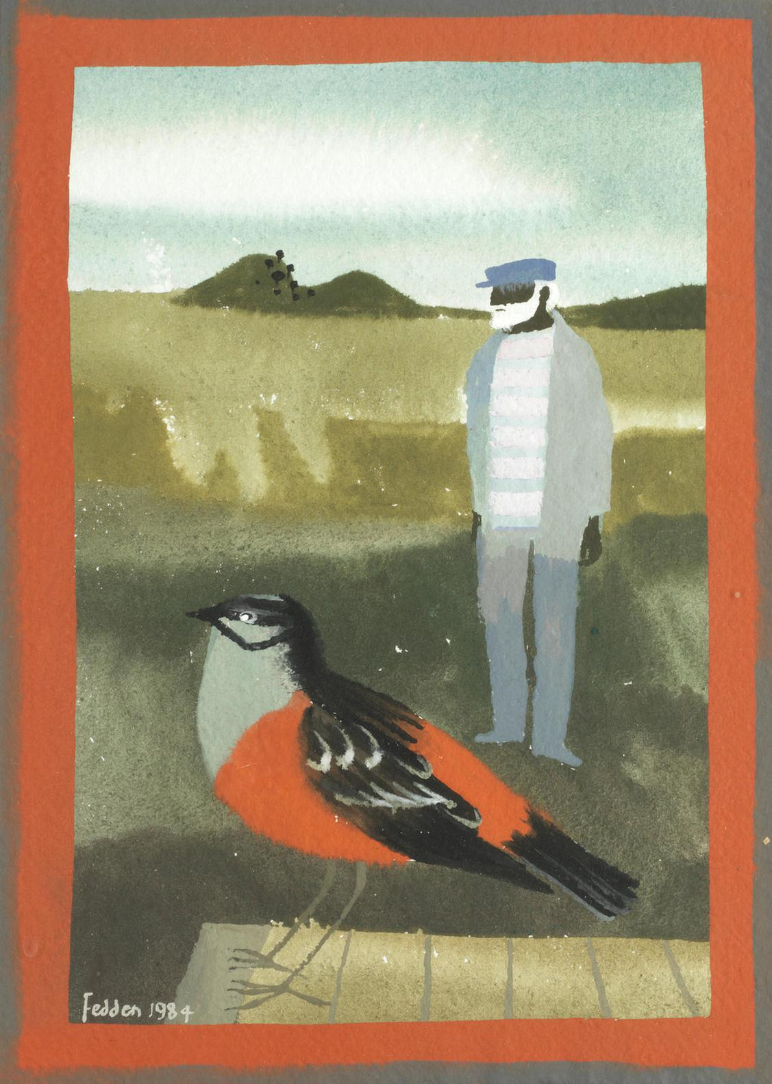 Mary Fedden-Julian And The Bird-1984