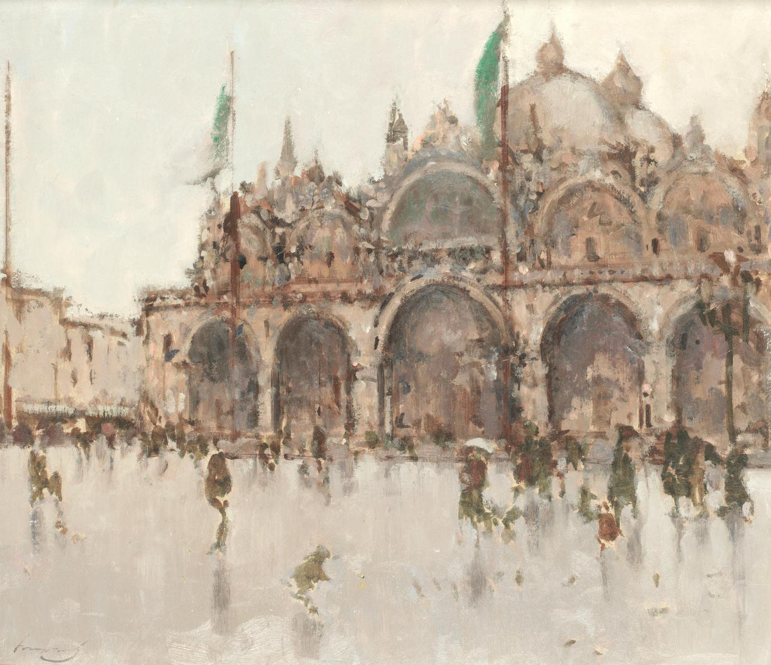 Ken Moroney - A Rainy Day In Venice-
