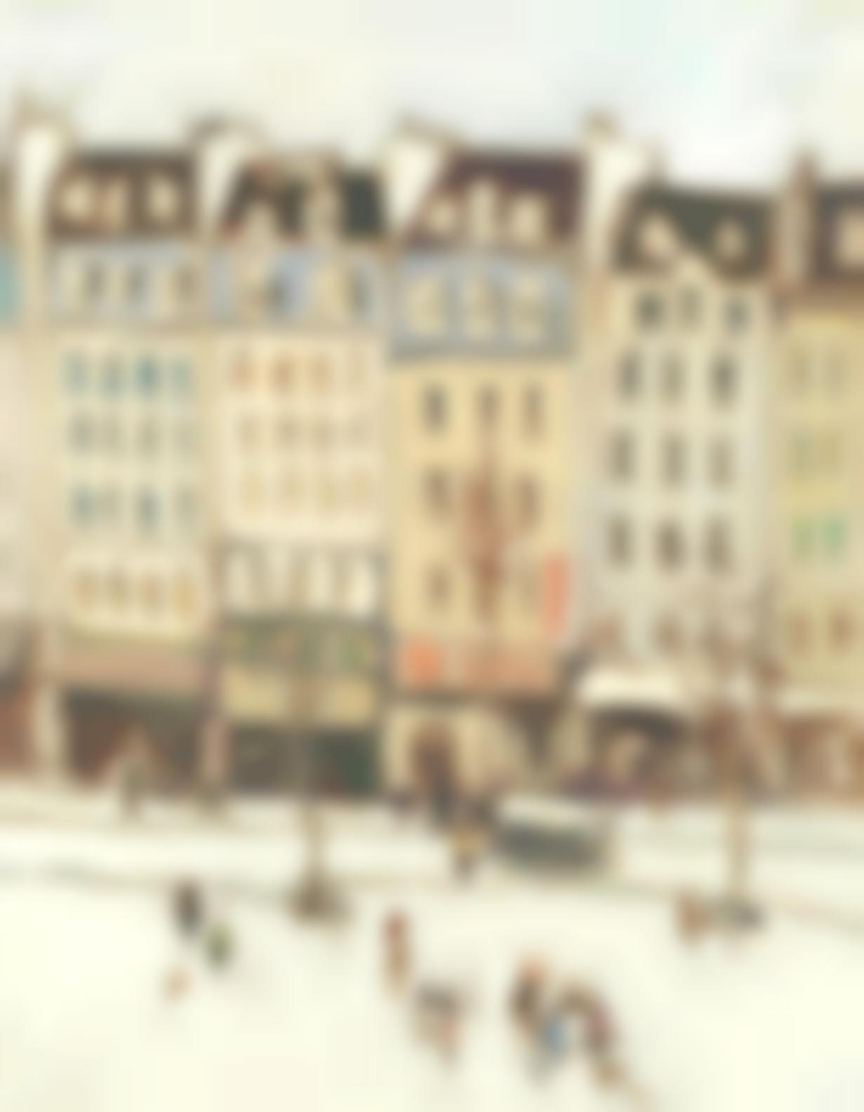 Ken Moroney - Amsterdam Street Scene-