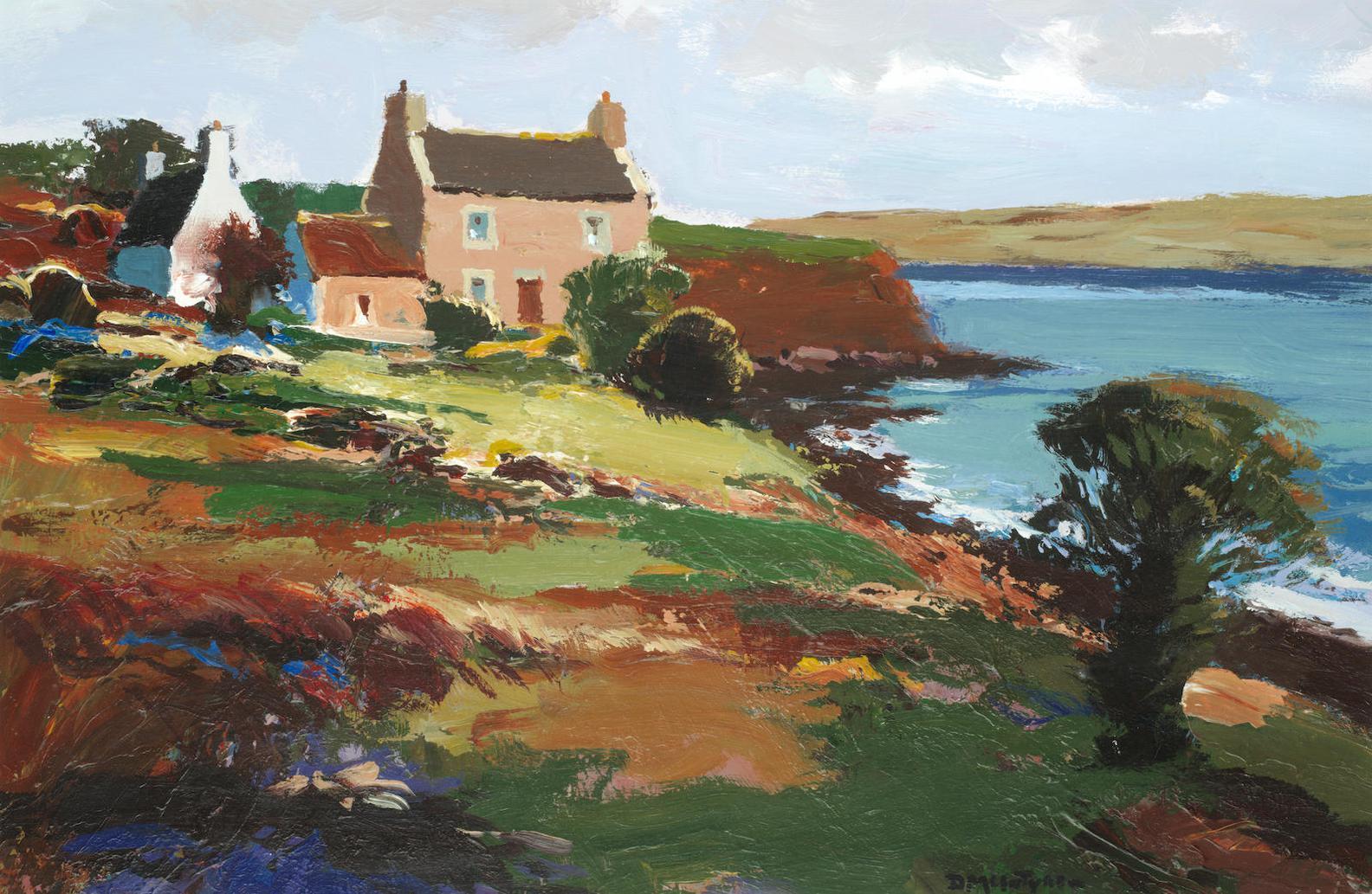 Donald Mcintyre - Farm By The Sea-
