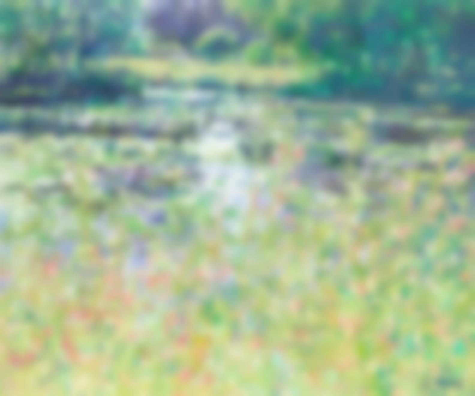 Charles Neal - Meadows Downstream Of Byfleet Manor-
