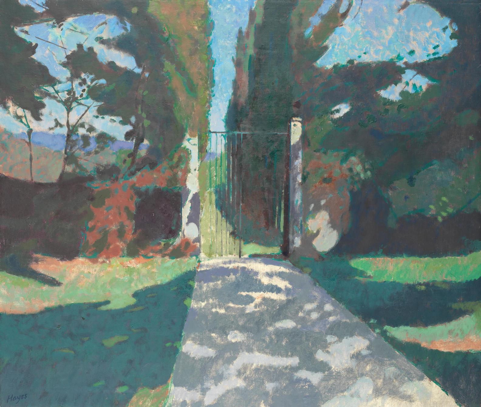 Colin Hayes - The Path To The Farm At St Esteve-1976
