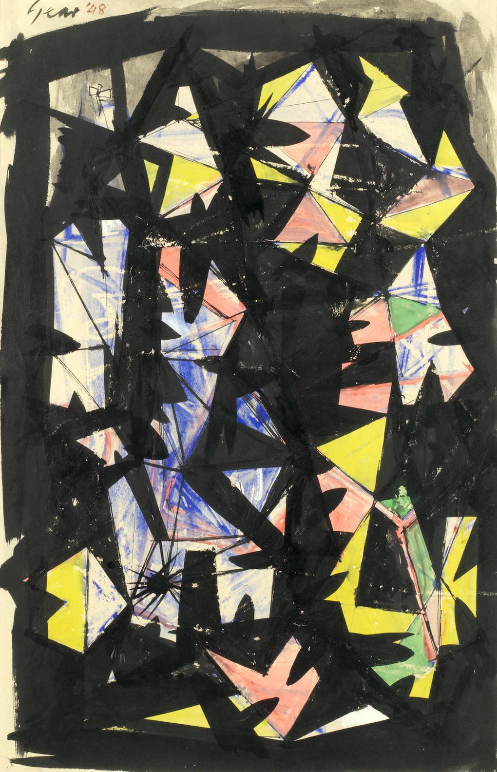 William Gear-Nocturne-1948