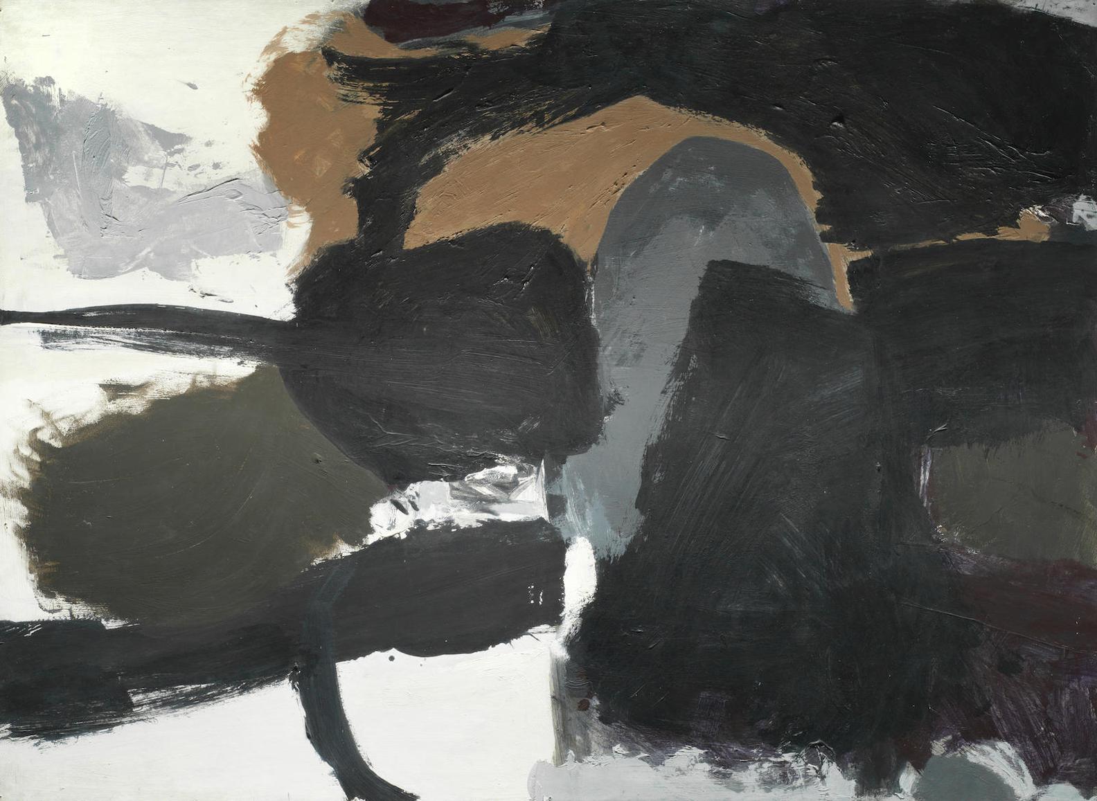 Trevor Bell-No. 5 Dark Movement-1961