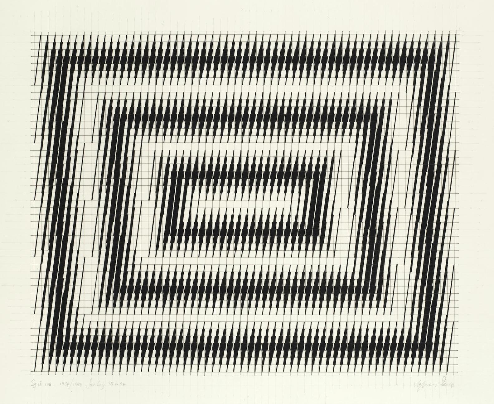 Jeffrey Steele-Geometric Study-1994