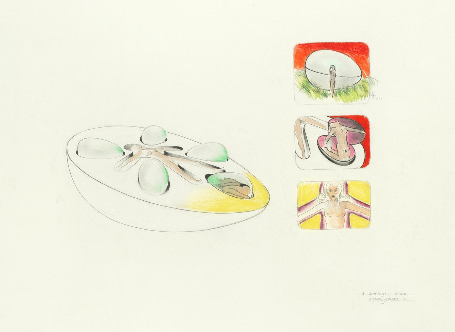 Allen Jones-Embryo-1970