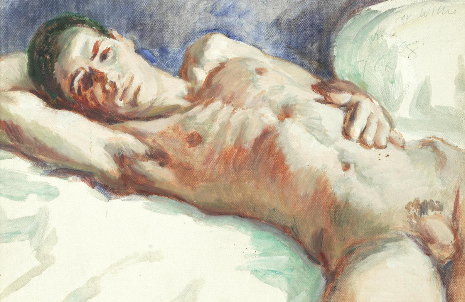 Duncan Grant-Male Nude-1968