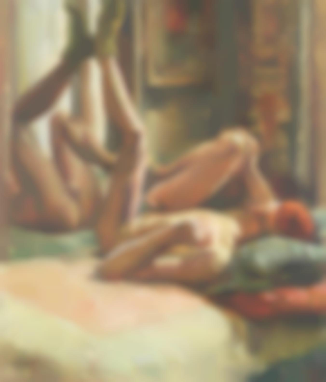 Duncan Grant-Male Nude-