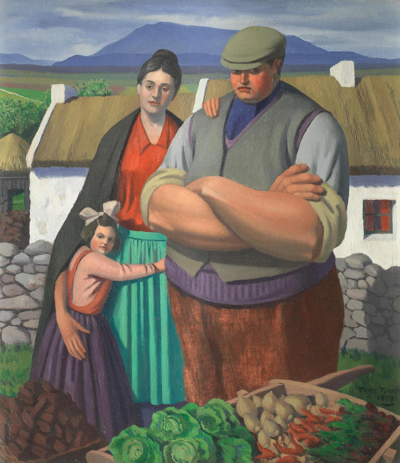 John Turner - The Donegal Family-1953