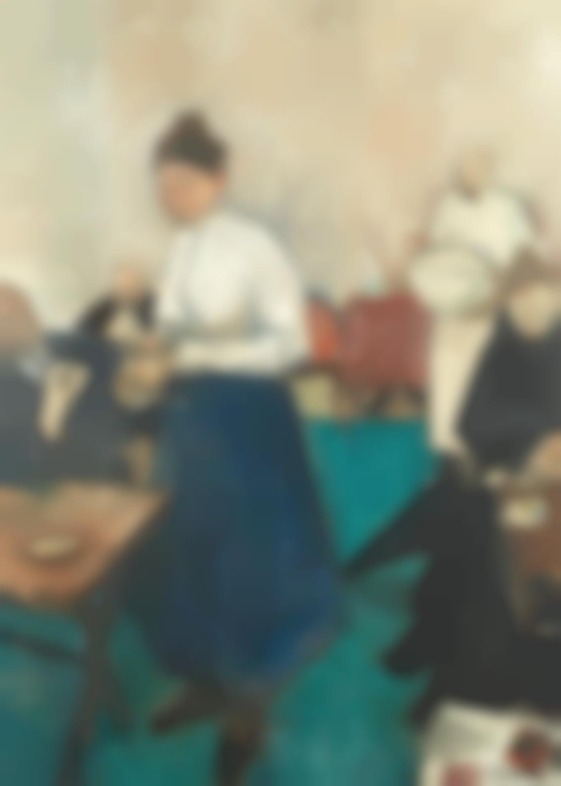 Geoffrey Tibble - Cafe Scene-1948