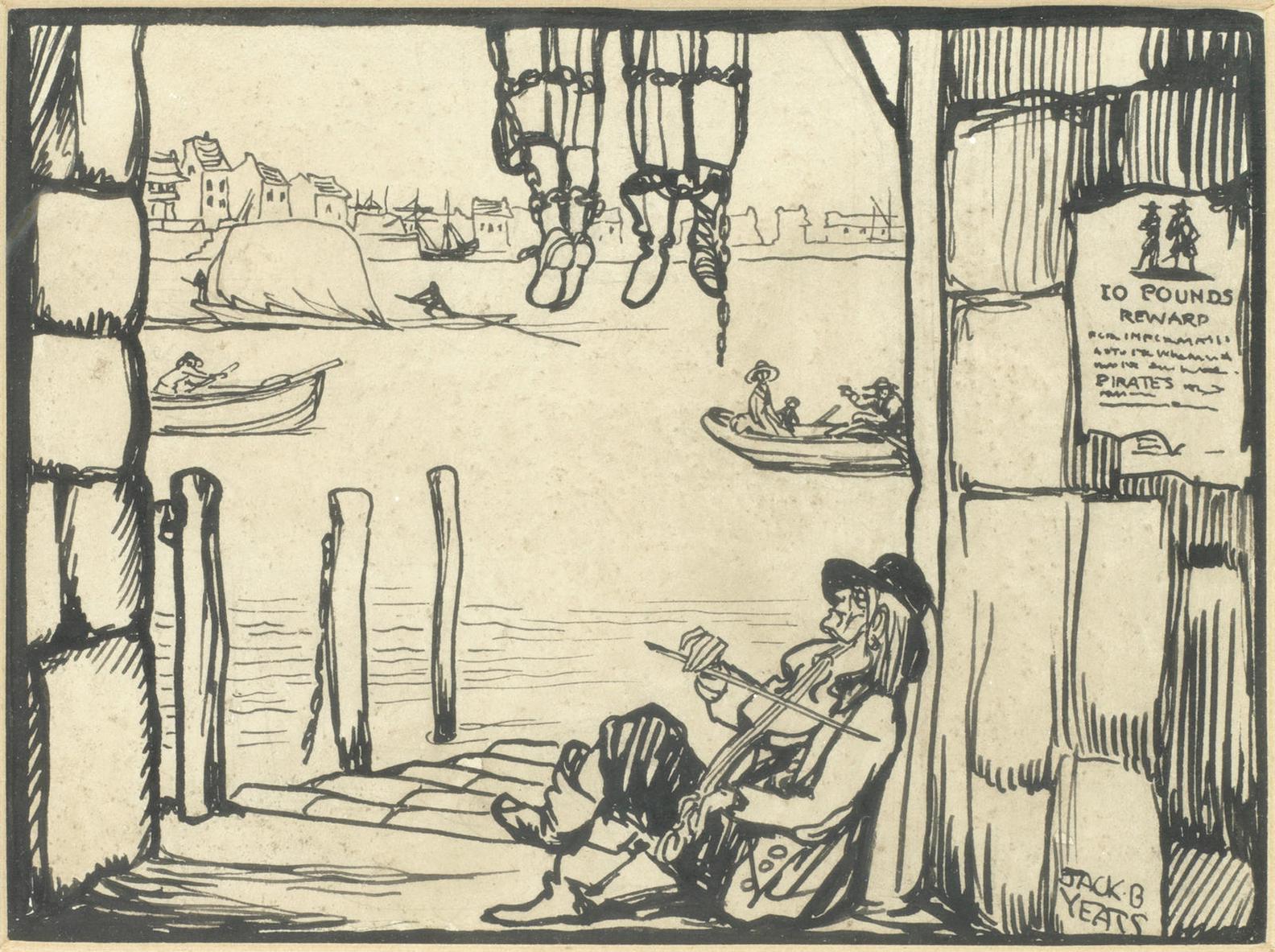 Jack B. Yeats - The Pirates Lament-