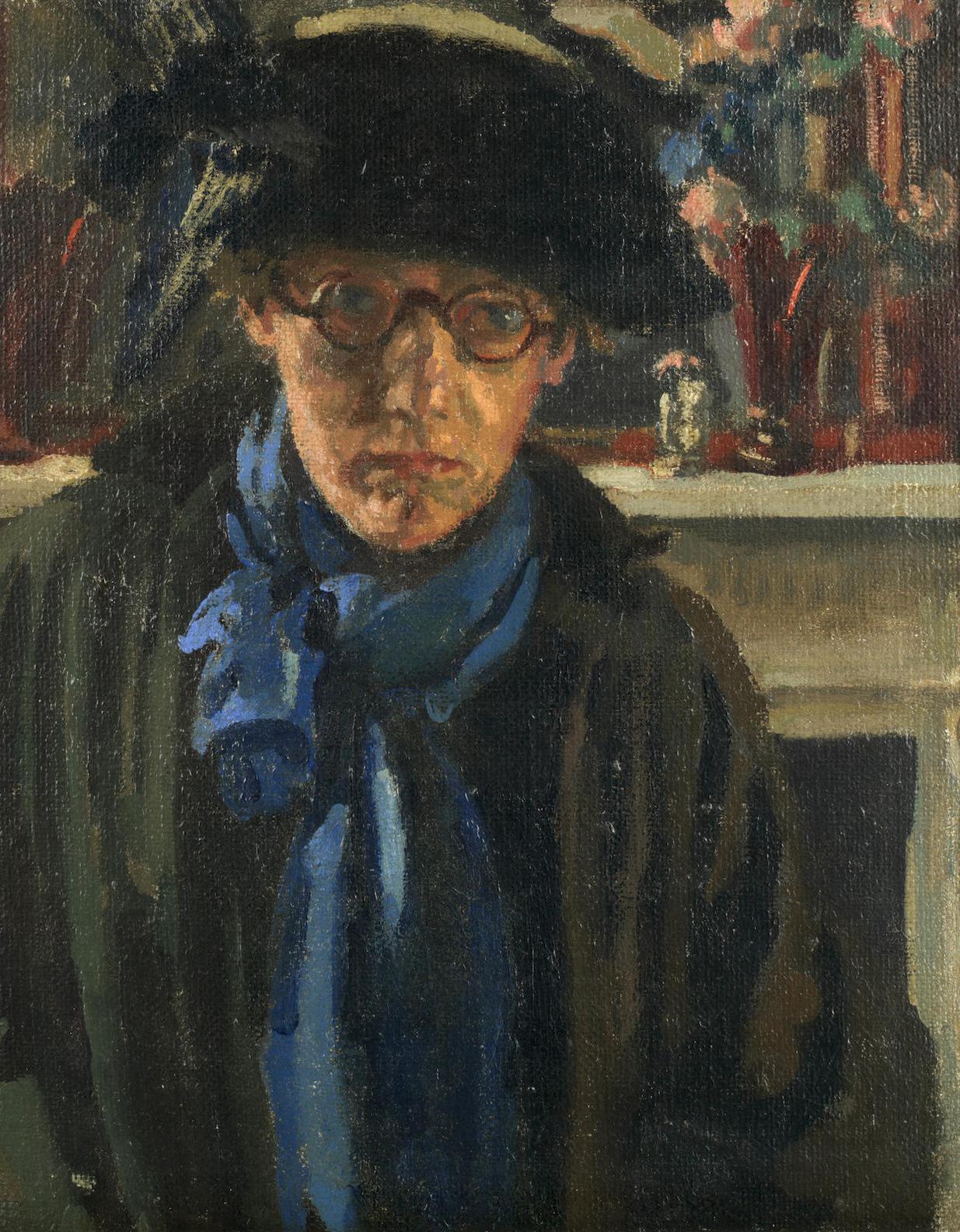 Sylvia Gosse-The Blue Muffler-