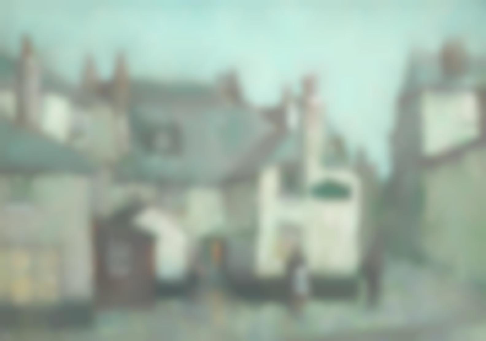 Arthur Hayward - Sloop Inn, St Ives, By Moonlight-