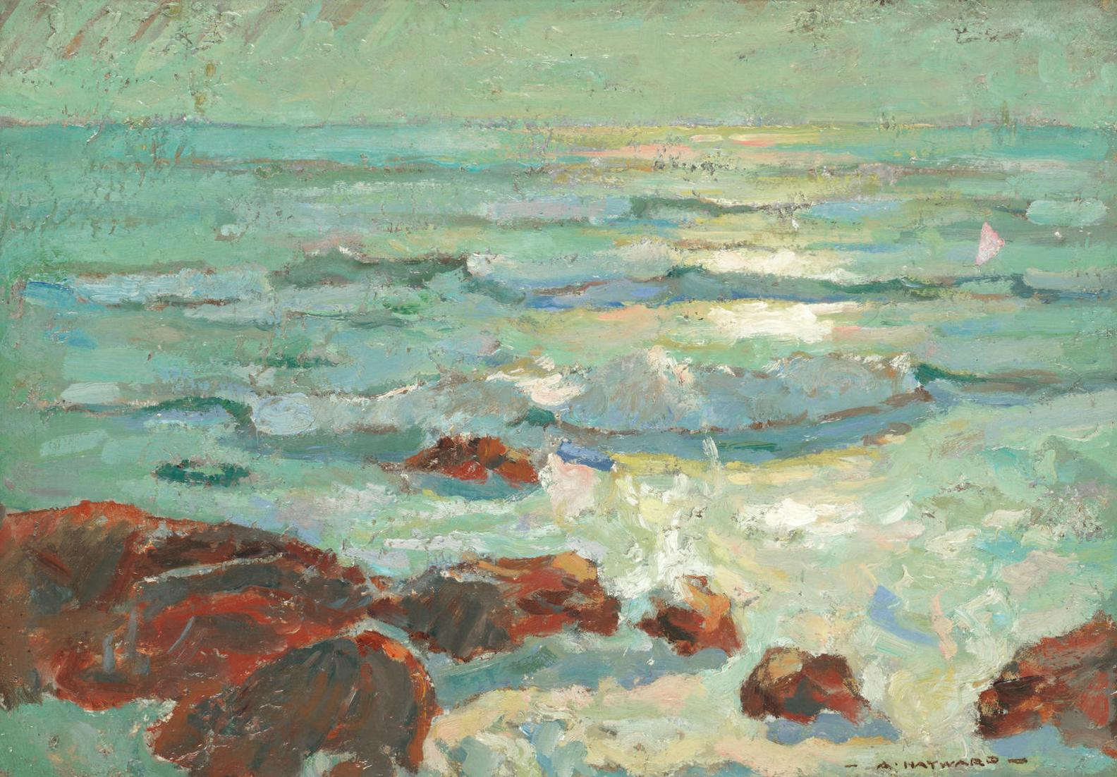 Arthur Hayward - Morning Light, St Ives-