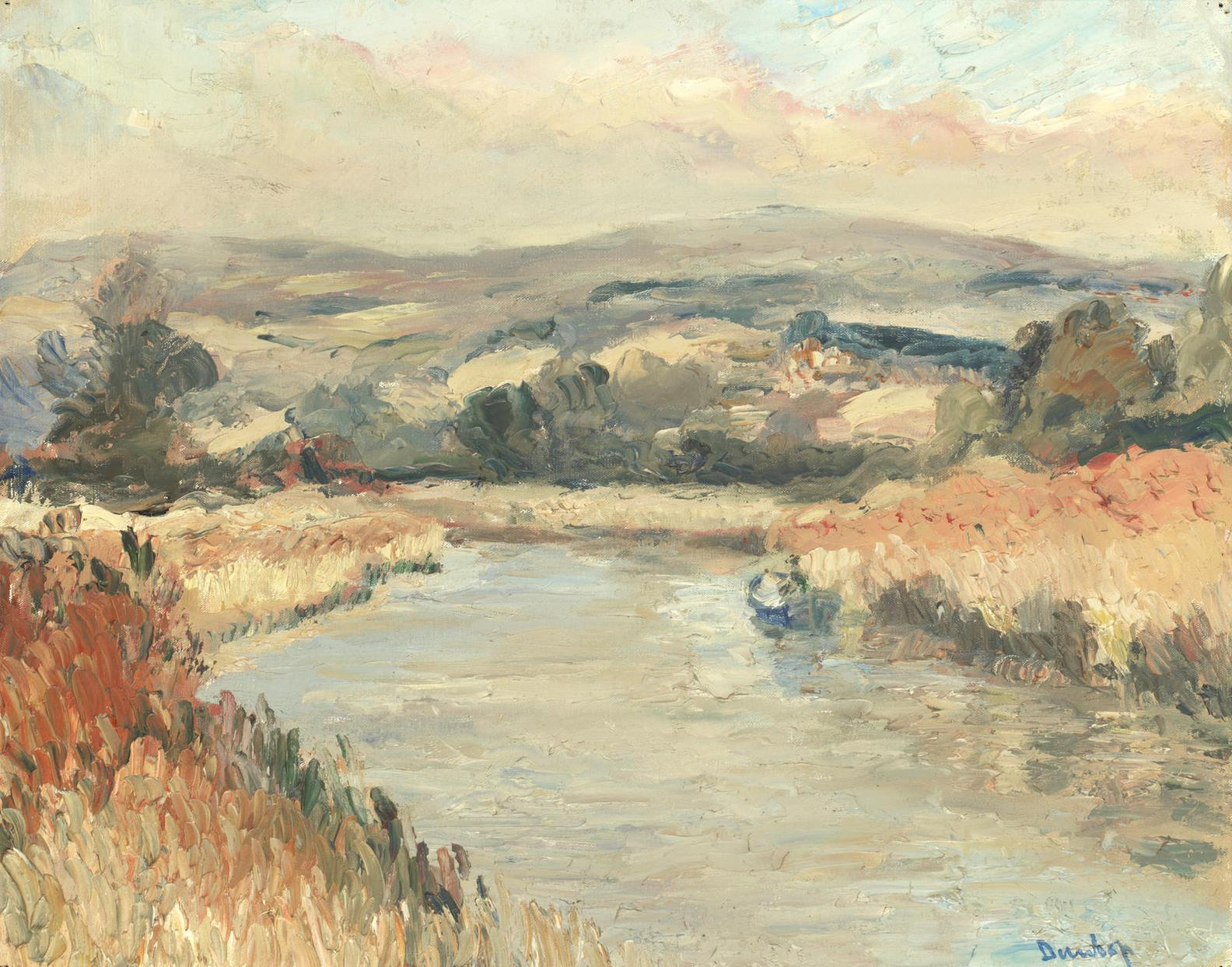 Ronald Ossory Dunlop N.E.A. - The Arun Near Ford-