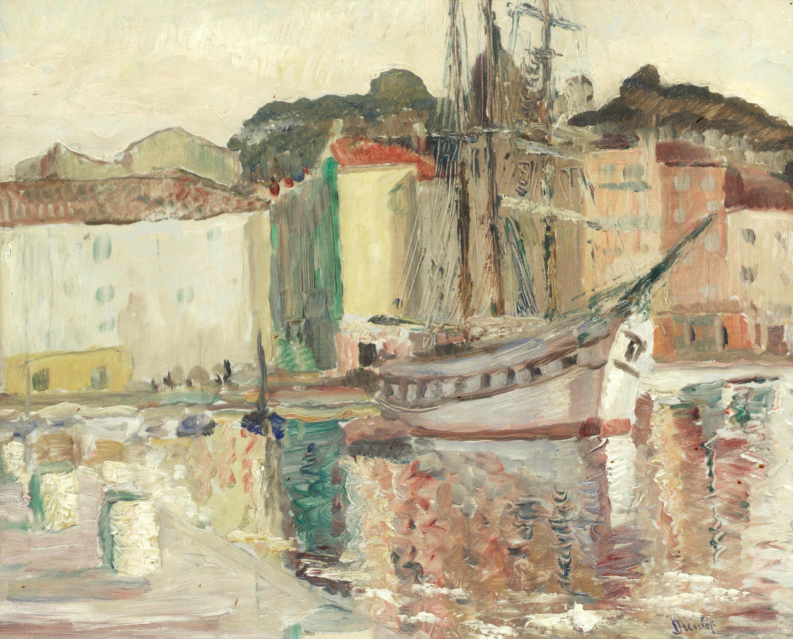 Ronald Ossory Dunlop N.E.A. - Port, St Tropez-