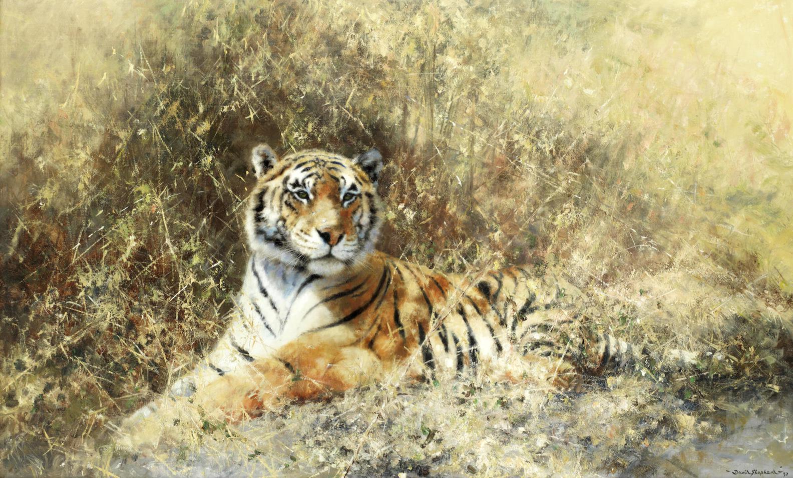 David Shepherd - The Rathambore Tiger-1997