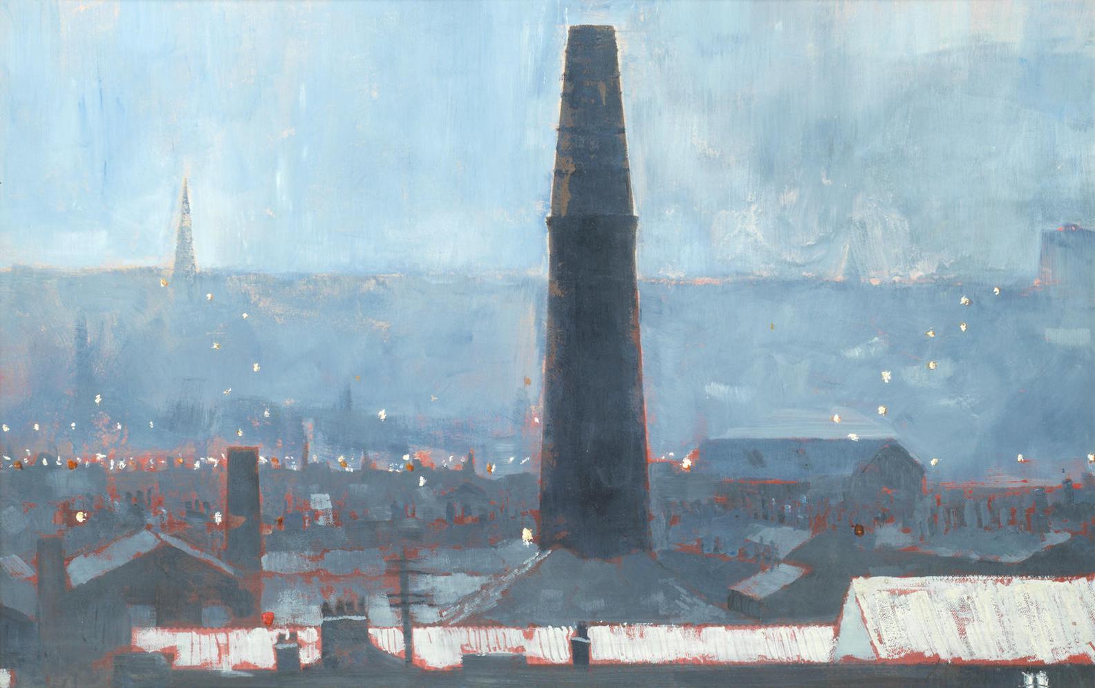 Harold Riley-Chimney, Brindle Heath-1970