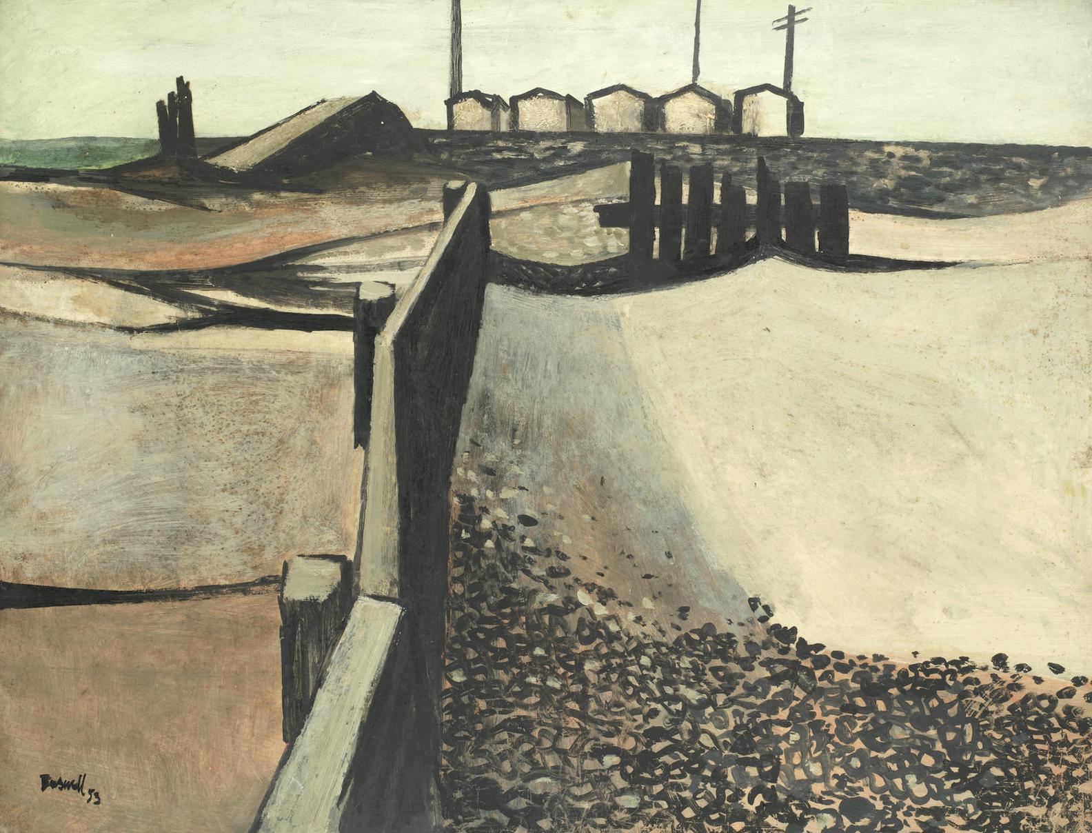 James Boswell-Shoreham Beach 1-1953