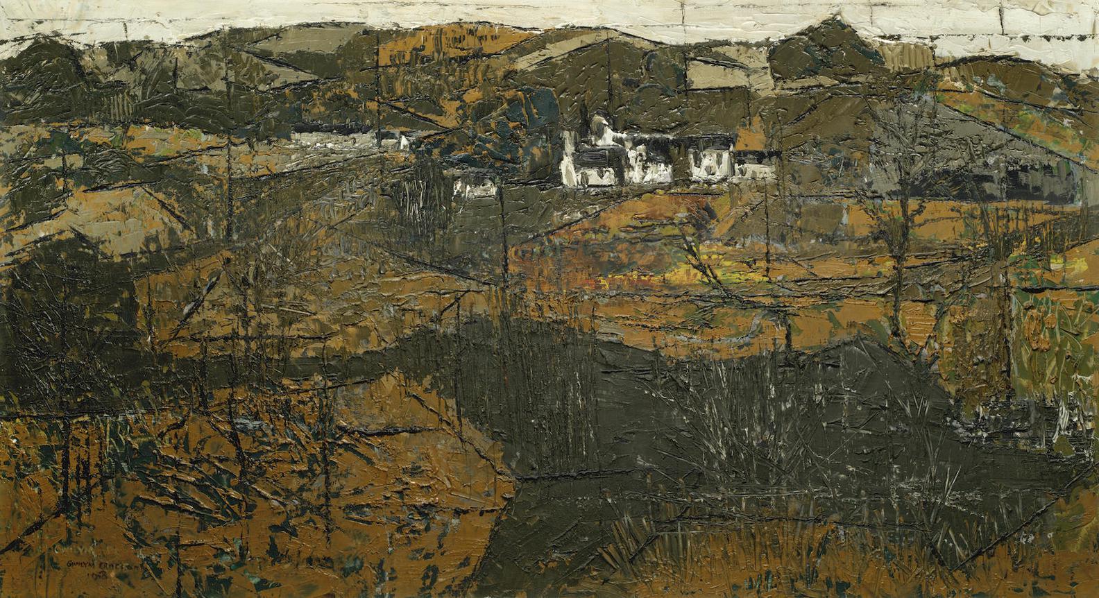 Gwilym Pritchard (British - Wet Ground-1958