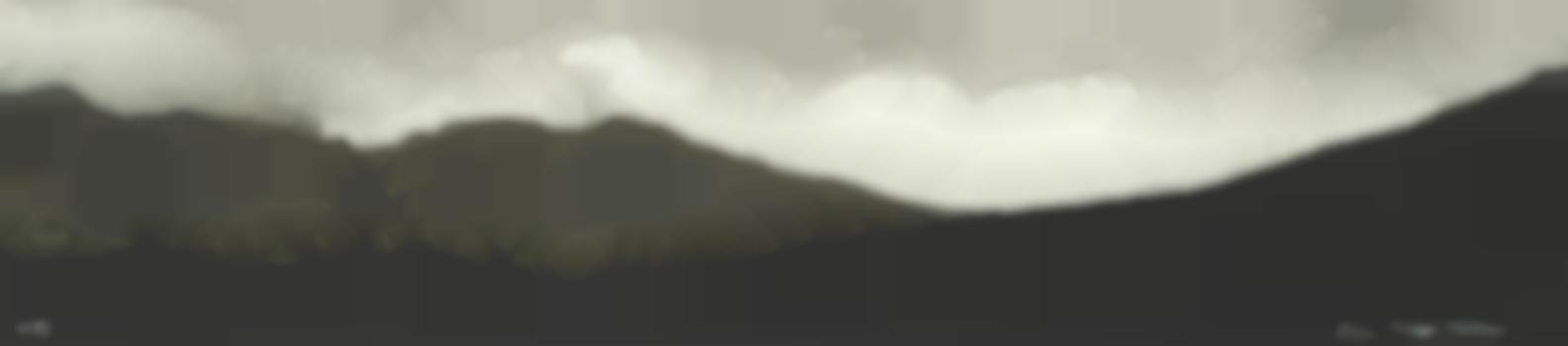 John Knapp-Fisher - Hill Skyline - Pembrokeshire-1985