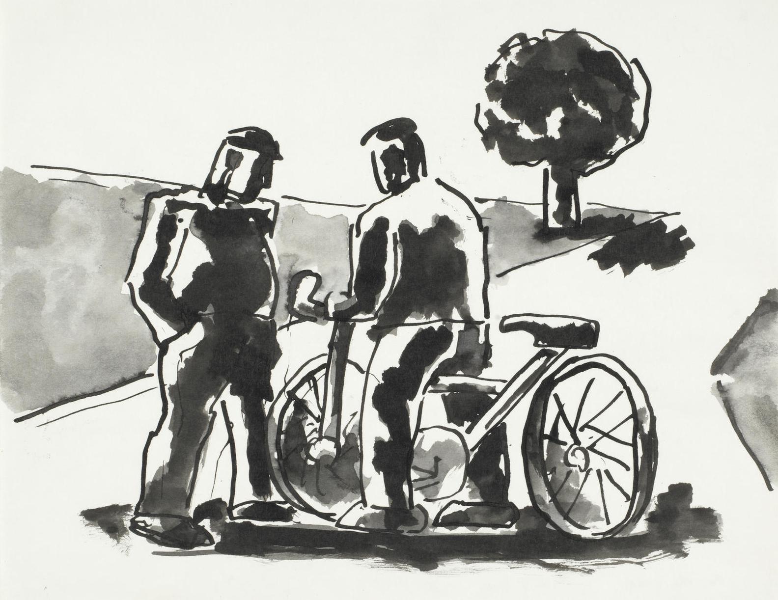 Josef Herman-On The Road-