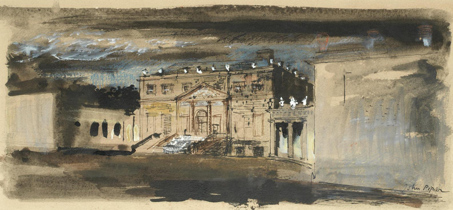 John Piper-Russborough, Blessington, County Wicklow-