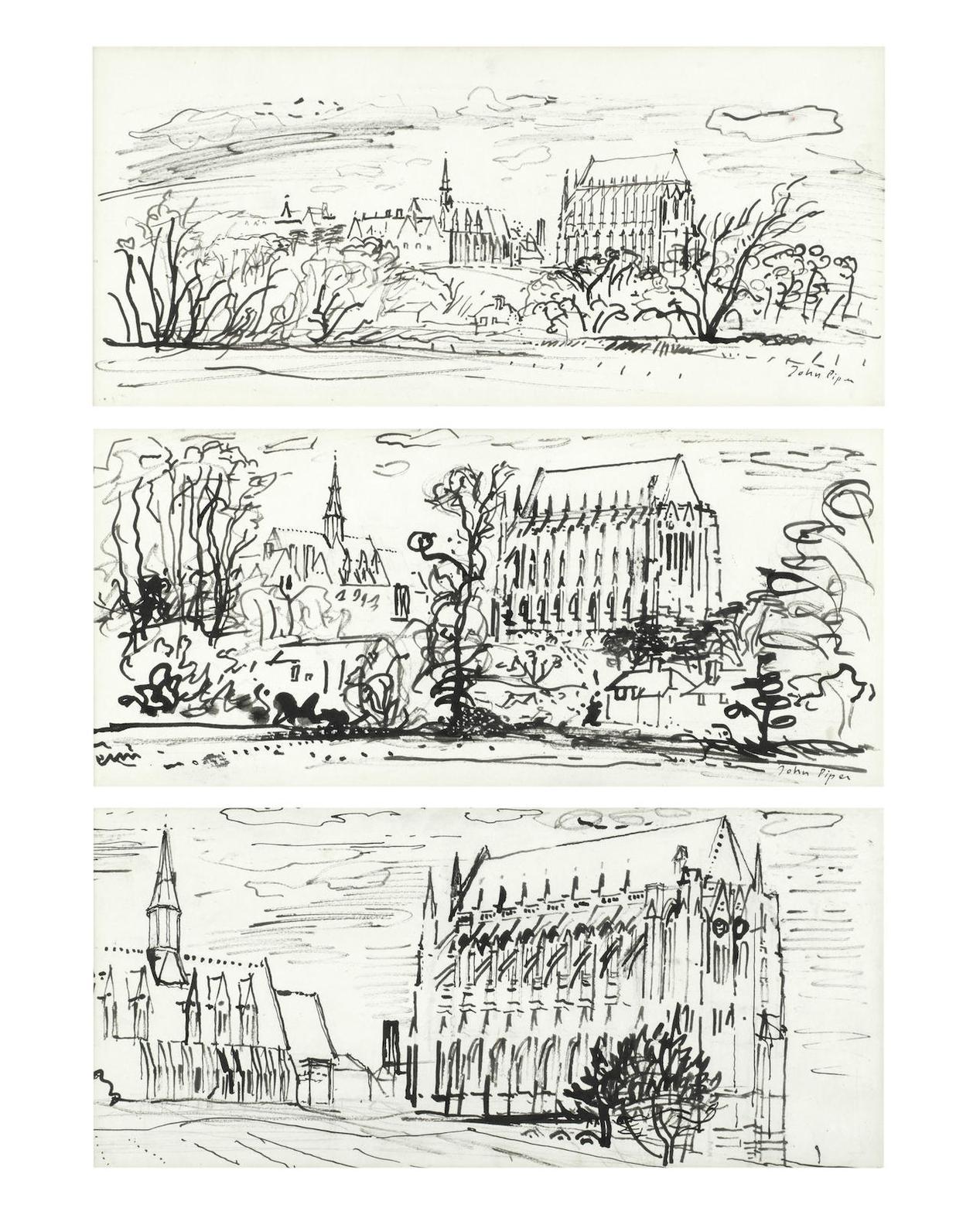 John Piper-Lancing College-1952