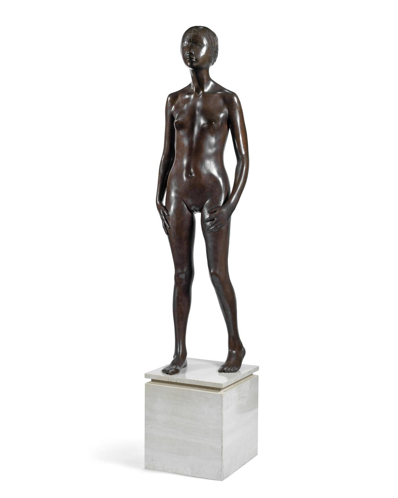 Ralph Brown-Standing Girl-