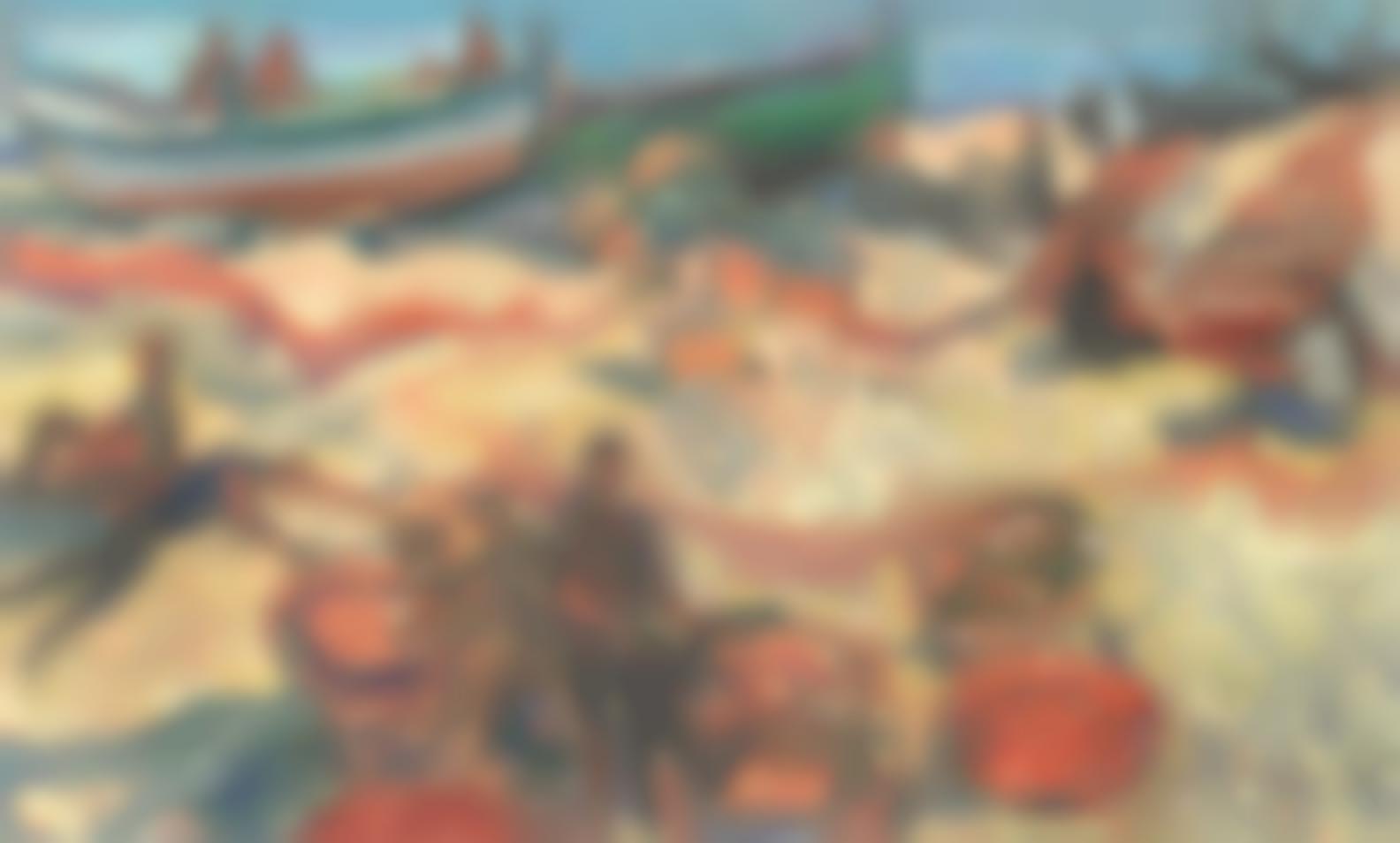 John Minton-Spanish Fishermen-