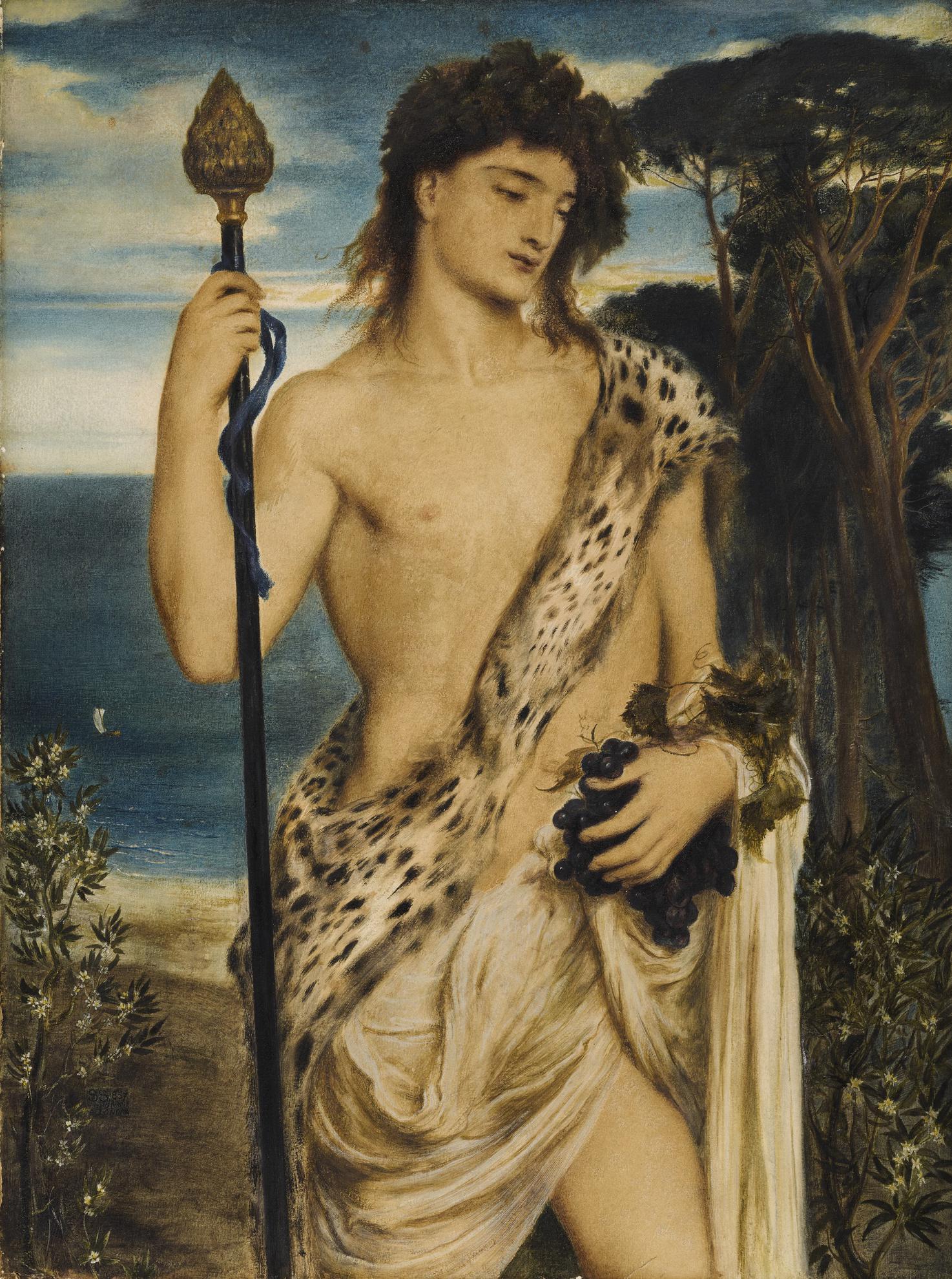 Simeon Solomon - Bacchus-