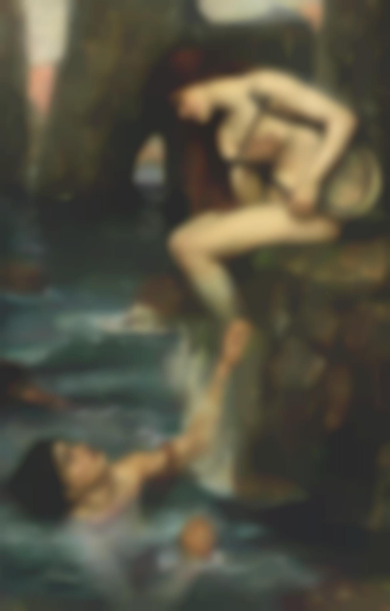 John William Waterhouse R.I. - The Siren-