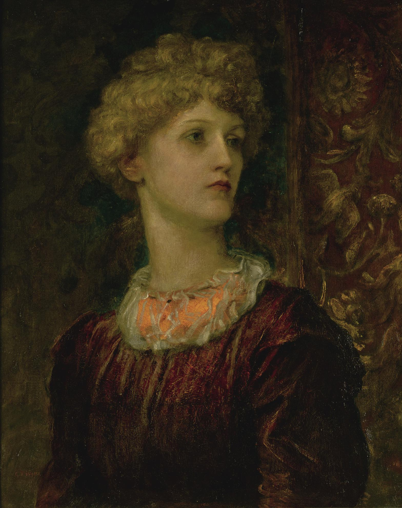 George Frederic Watts - Portrait Of Dorothy Dene-