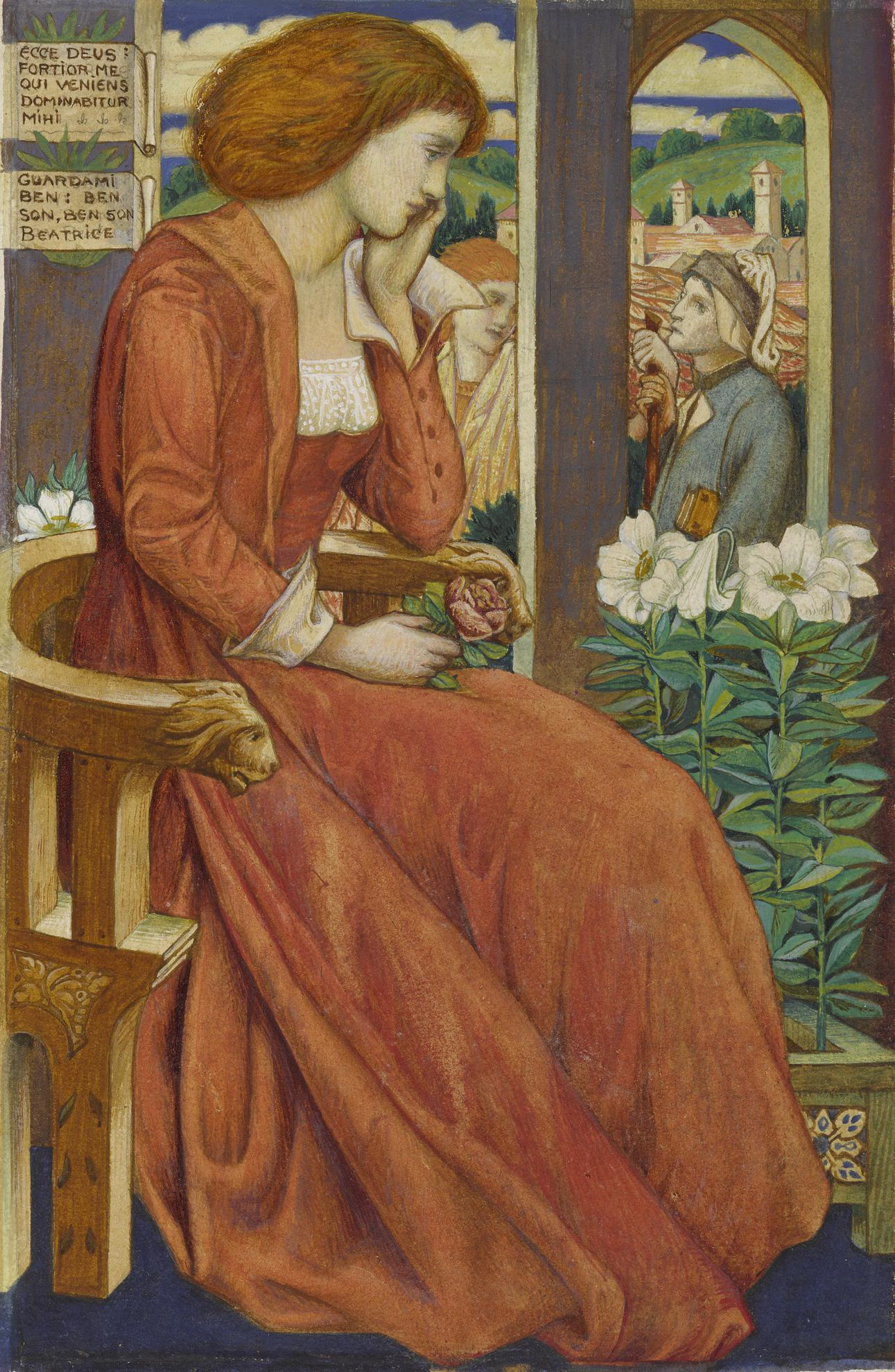 Bernard Sleigh - Beatrice-1899