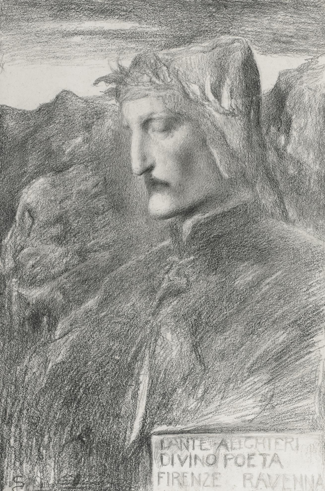 Simeon Solomon - Dante-1903