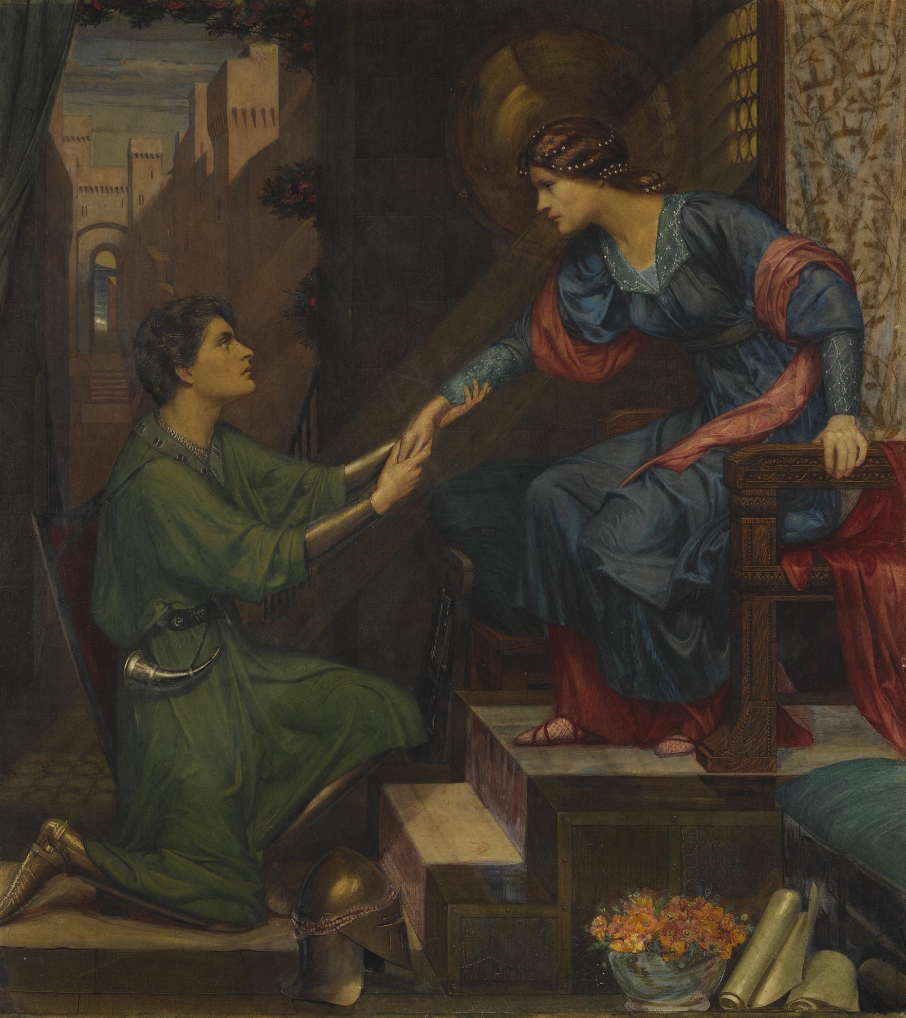 Sidney Harold Meteyard - Tristram And Yseult-