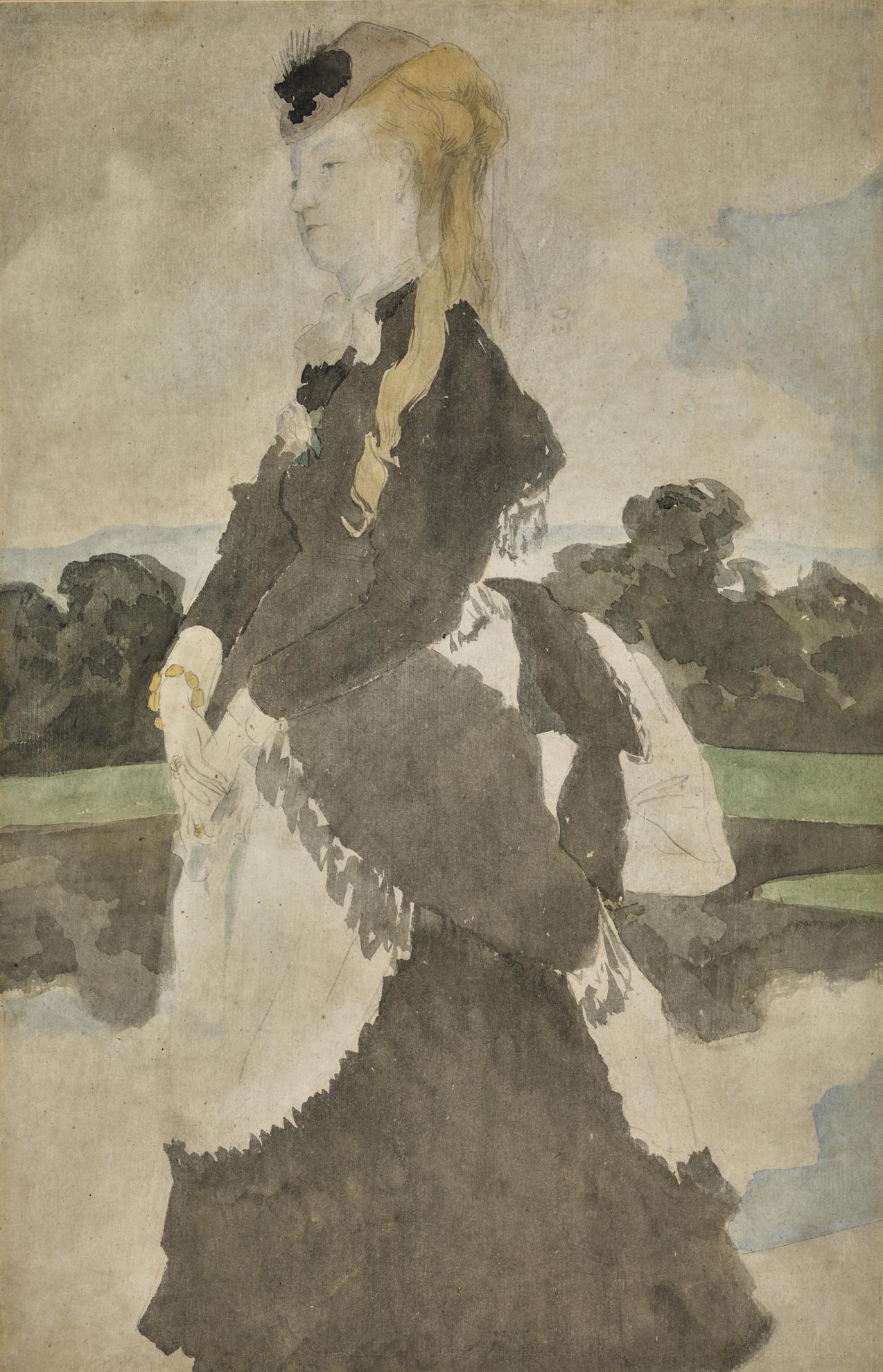 James-Jacques-Joseph Tissot - Lady Mary Craven-
