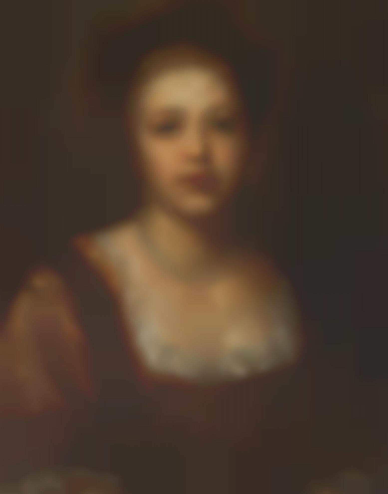 George Frederic Watts - Portrait Of Miss Hannah Rothschild-