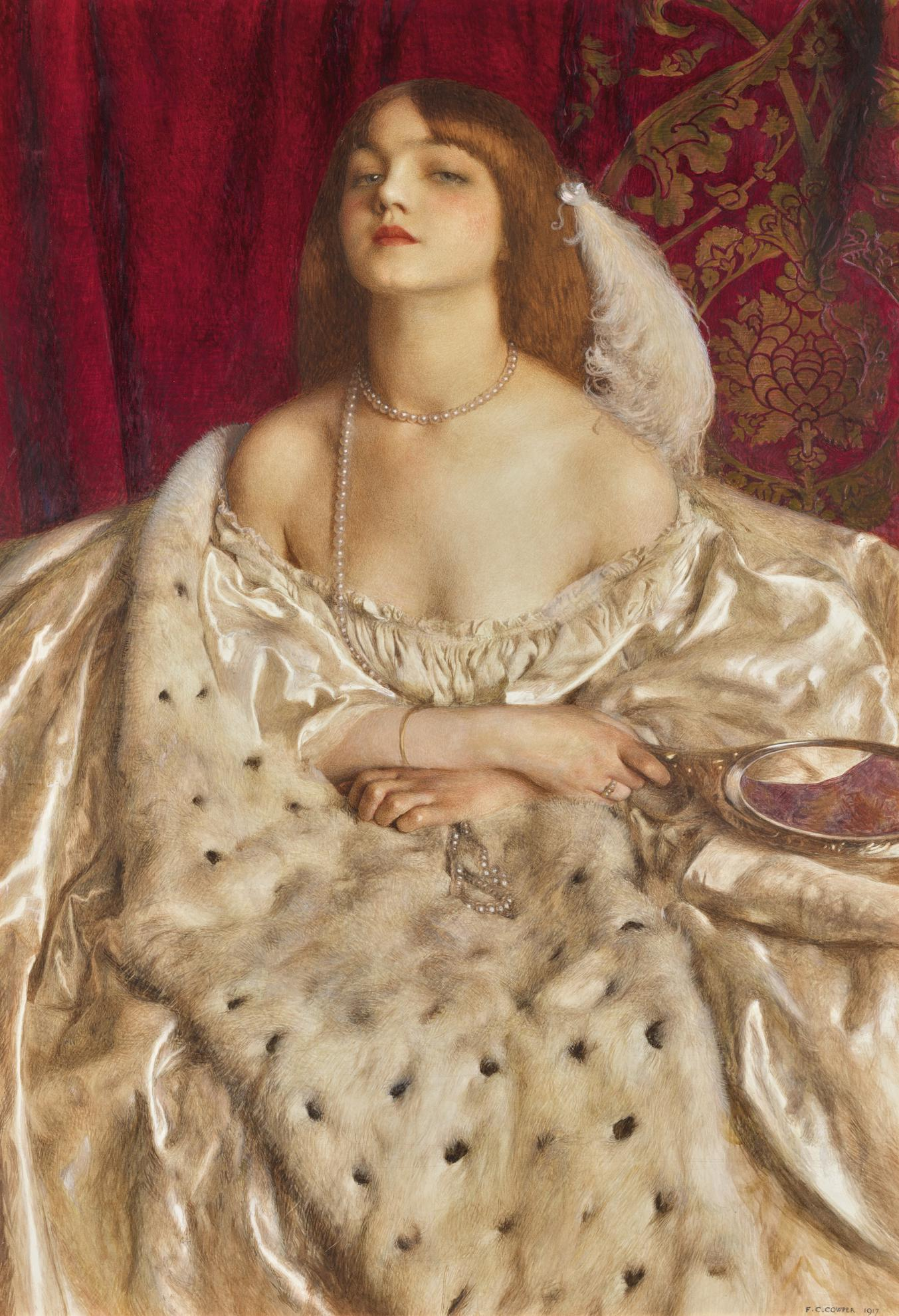 Frank Cadogan Cowper - The Young Duchess-1917