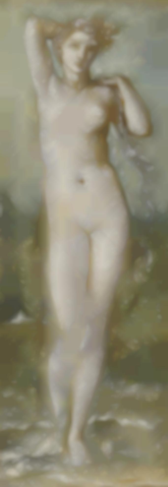 Sir Edward Coley Burne-Jones Bt. - Venus Rising From The Sea-
