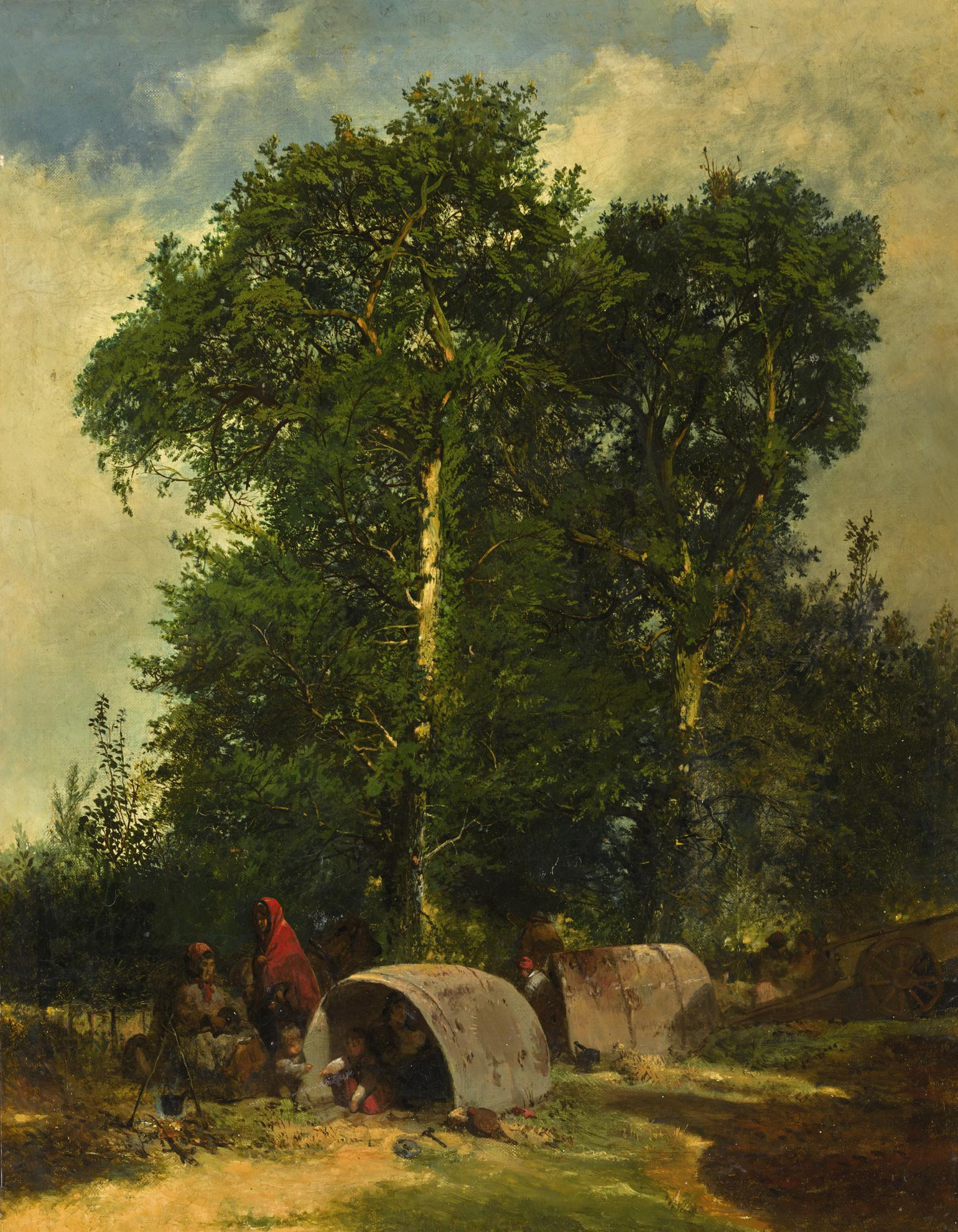 John Ritchie - An Encampment-